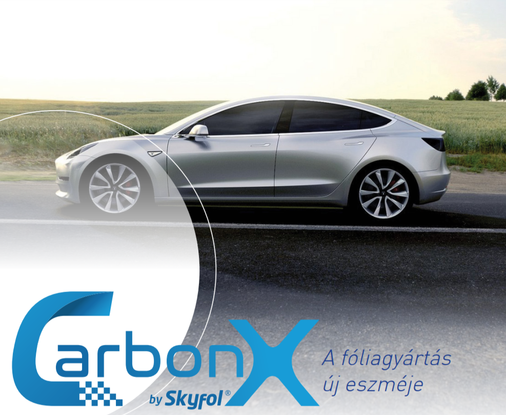 skyfol carbonx autóüveg fóliázás - nagy SUV